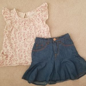 Girls outfit size 2-3 years By Pumpkin Patch